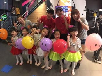 明日之星幼兒班「響應國際舞蹈日2017」各自各 ‧ 全城舞起來